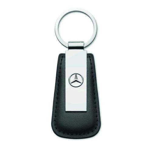 Metallinen avaimenperä omalla logolla sinkkiseos ja PU nahka