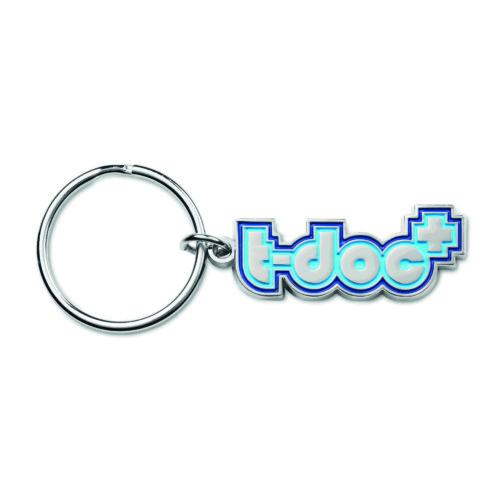 Metallinen avaimenperä omaan muotoon sinkkiseos